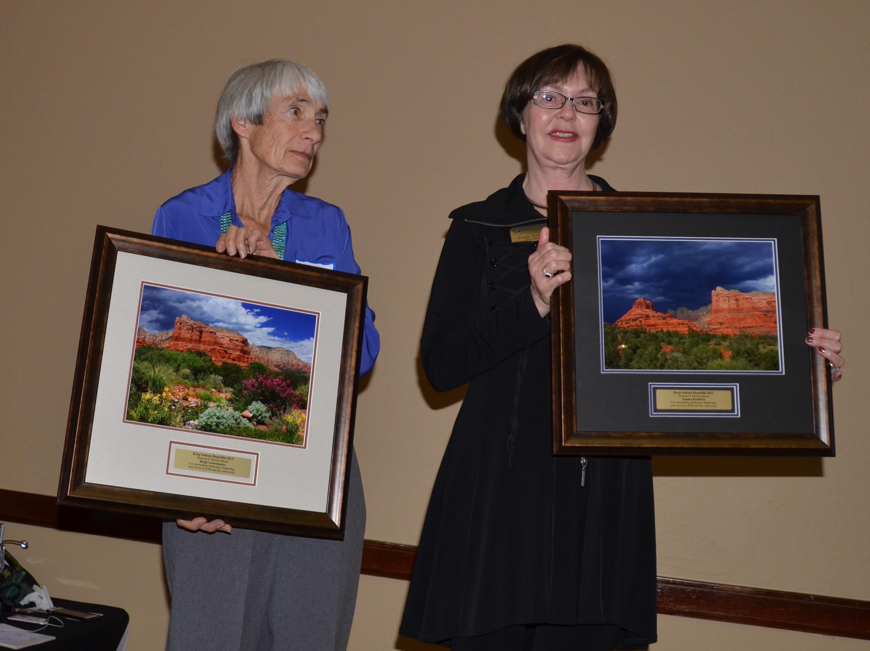 Birgit Loewenstein Joanne Kendrick Receive Norman McGee Award